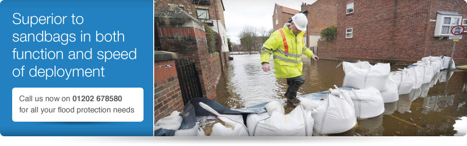 flood defence - sandbags not working