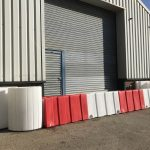 mobile flood barriers